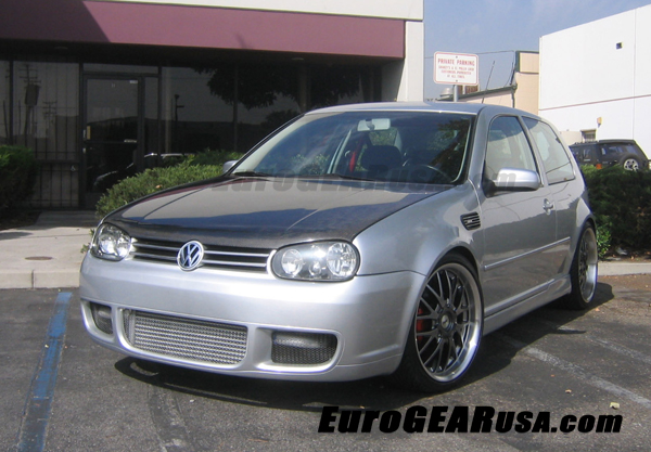 99-05 VW Golf EuroGEAR Carbon Fiber Hood