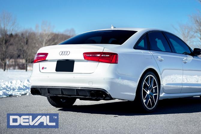 12 Audi S6 Carbon Fiber Rear Diffuser C7 13, 14, 15